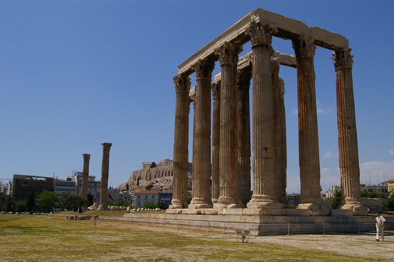 Tempel van de Olympische Zeus