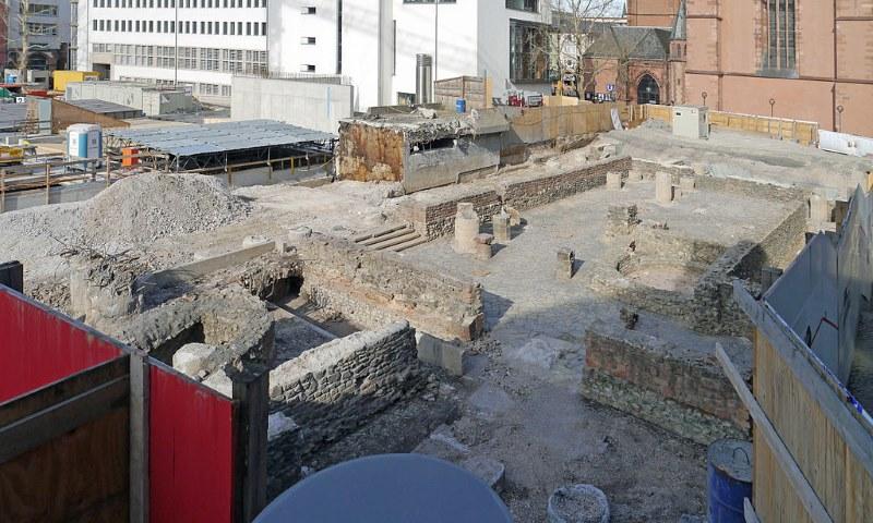 archeologische tuin
