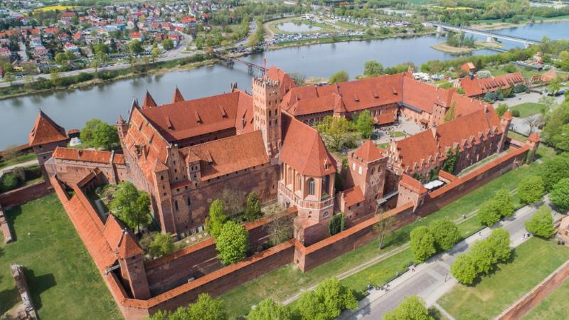 malbork kasteel polen