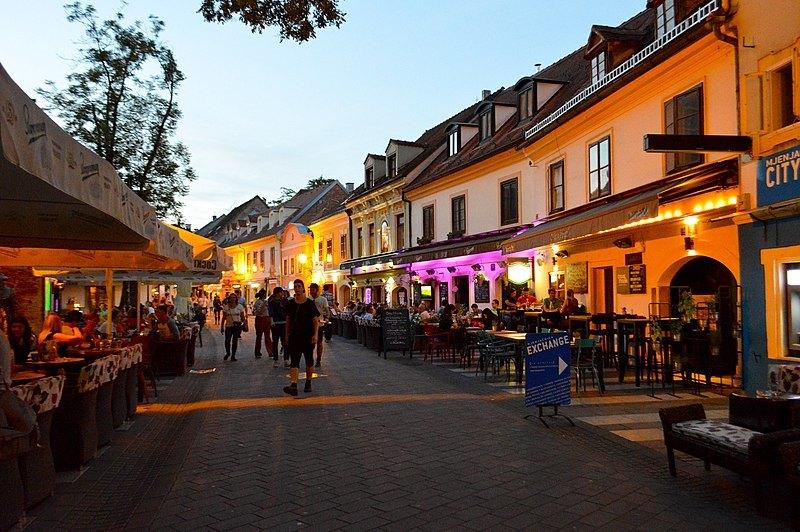 Tkalčićeva straat