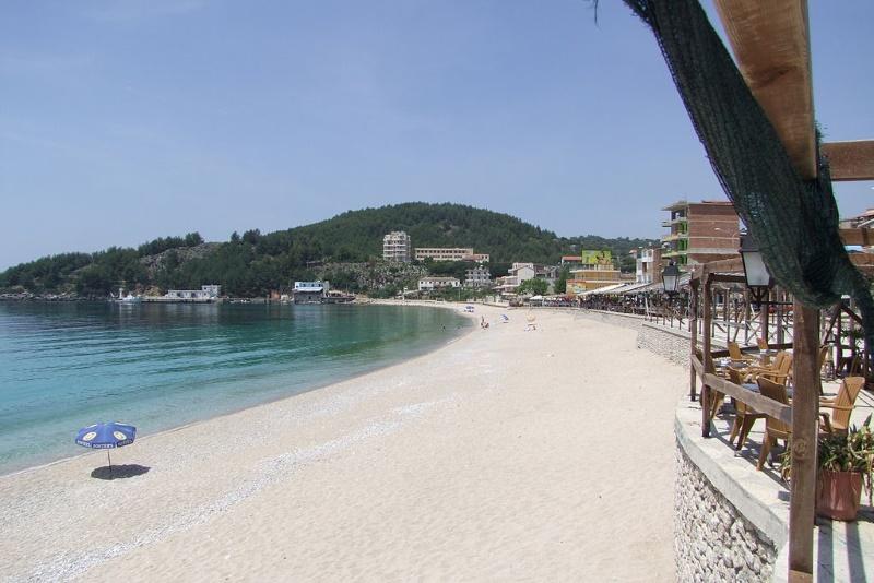 himara strand albanie