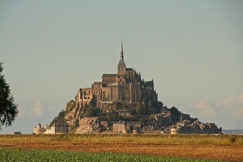 architectuur mont saint michel