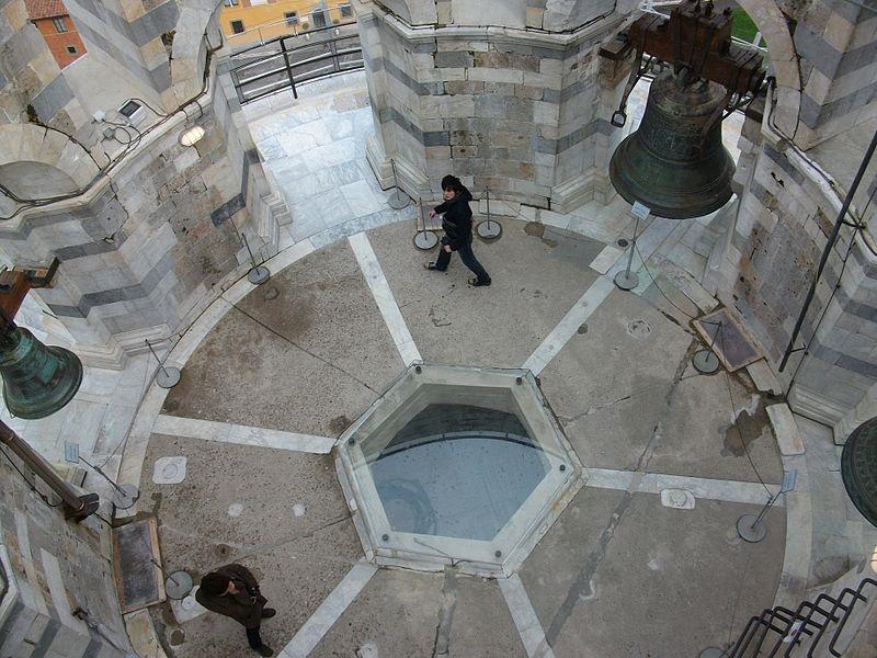 klokken van de pisa toren