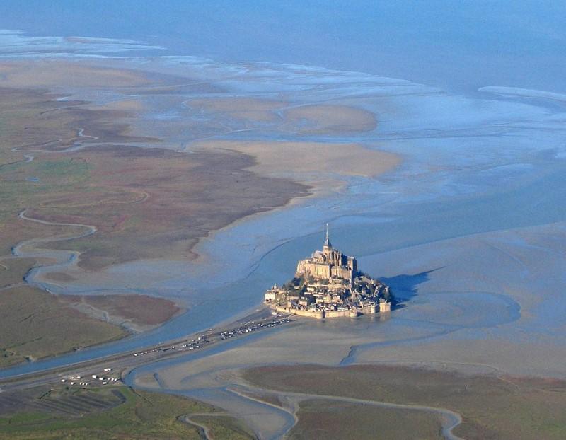 tij van Mont Saint Michel