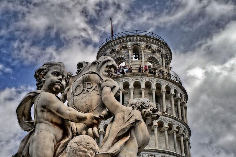 toren van pisa beklimmen