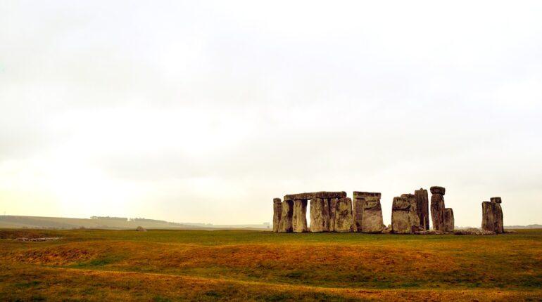 stonehenge landschap