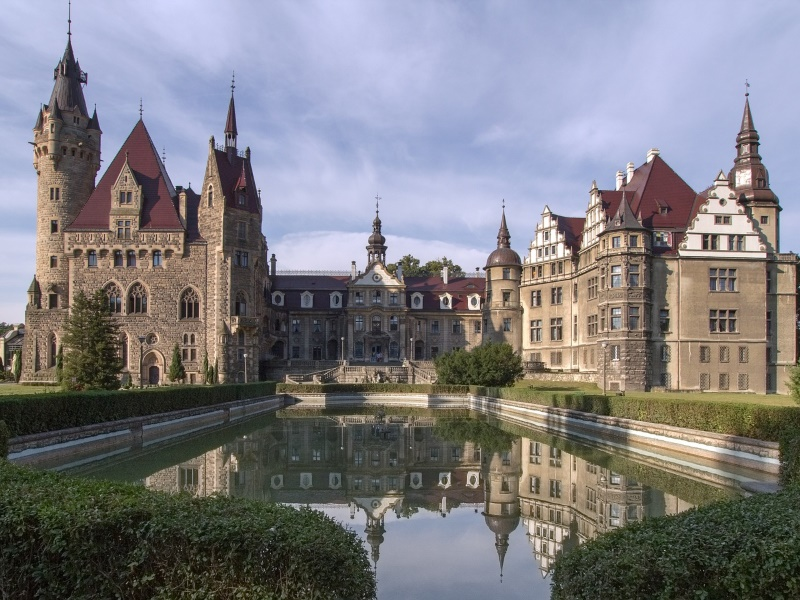 Moszna kasteel