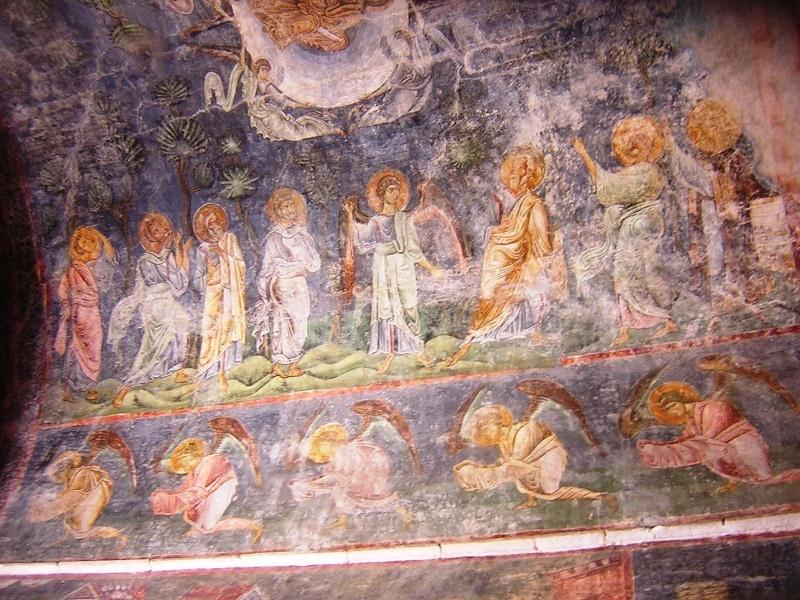 St. Sophia kerk frescos