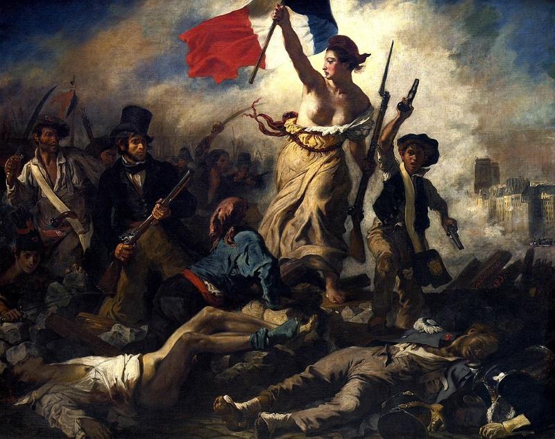 Vrijheid leidt het volk