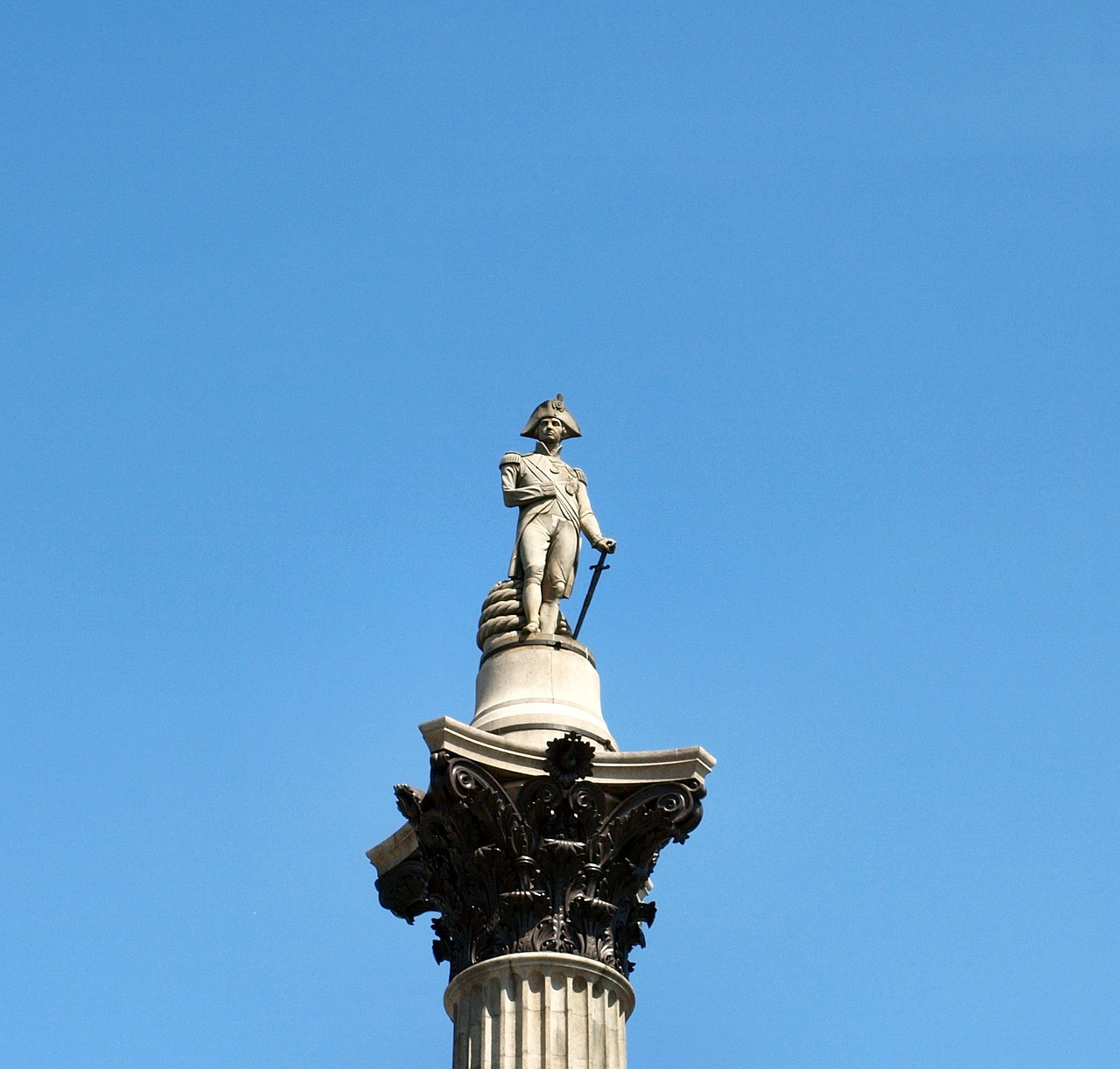 nelson column close up