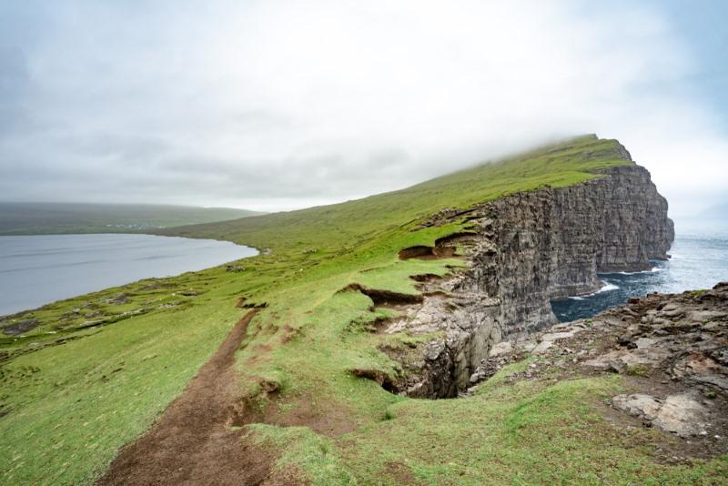 tralanipa farroer eilanden optische illusie