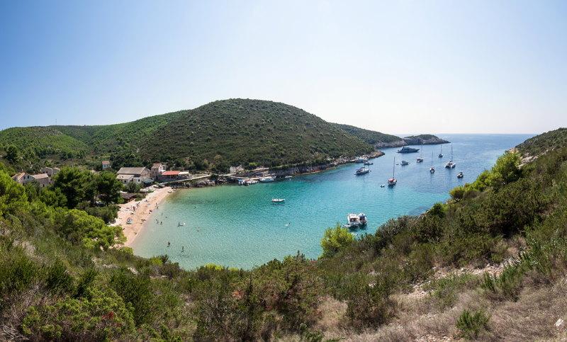 Bisevo eiland kroatie