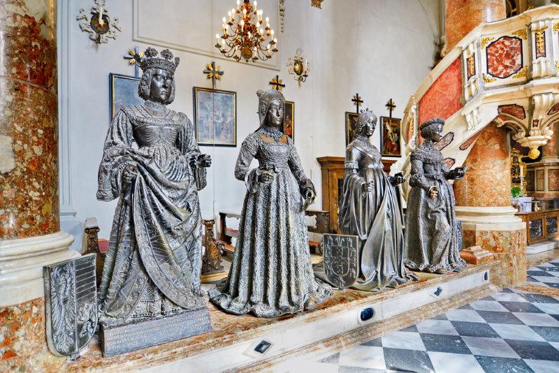 Hofkirche graf van maximiliaan
