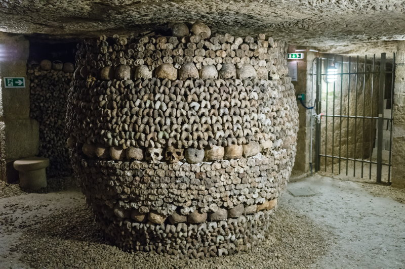 catacomben van parijs 3