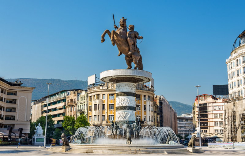 Macedonia plein