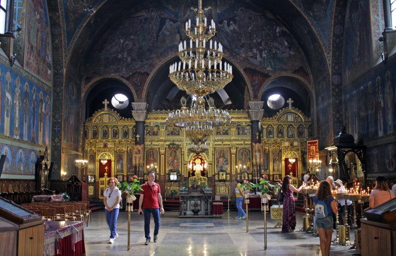 Sveta Nedelya Kathedraal van binnen